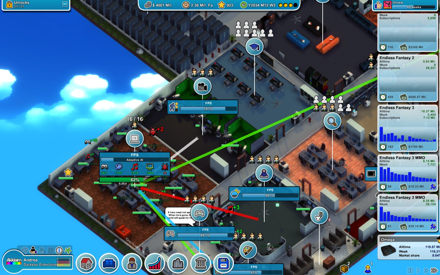 mad game tycoon free