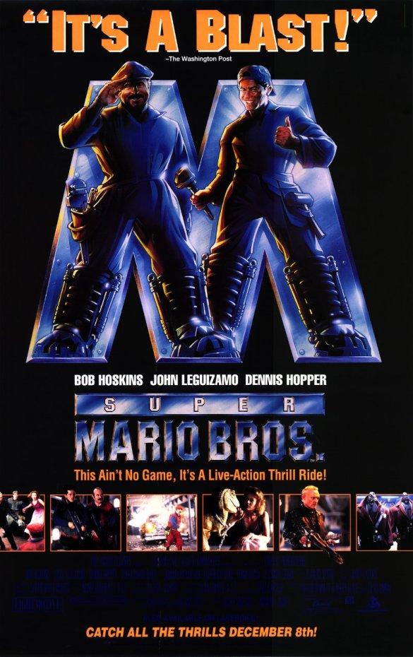 Super Mario Bros movie poster